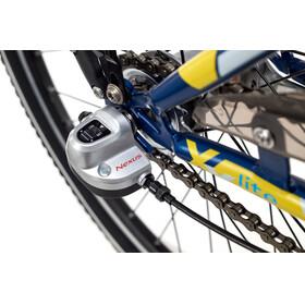 s'cool XYlite 24 3-S - Vélo enfant - Steel bleu